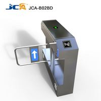 High Speed Stainless Steel Fingerprints or RFID cards control Swing Gating Turnstiles