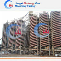 High quality mineral process spiral chute