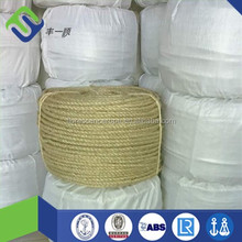 3 strand 10mm sisal rope , 100% natural sisal twist rope , bulk sisal rope