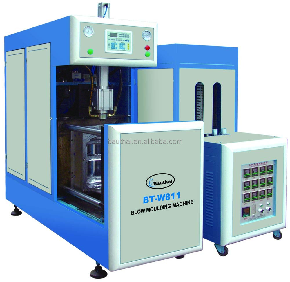 5 gallon Semi-automatic Pet Bottle Stretch Blow Molding Machine ( the rate of finished bottle is up to 99.5% )