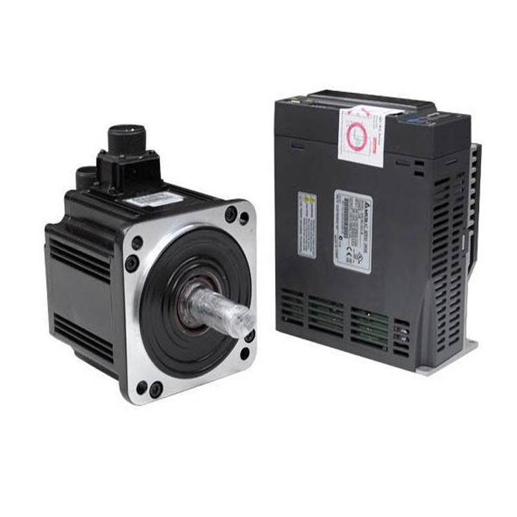 delta ac servo controller 2kw ASD-B2-2023-B 3 phase 130mm 9.55nm 17bit high precision servo <strong>motor</strong> with actuator linear