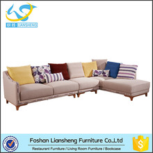 Sectional Fabric Sofa,Corner Sofa For Small House,Modern New Designs Sofa