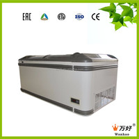 commercial display refrigerator for fruits and vegetables