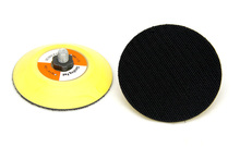 small sanding back plate disc pad with hoop and loop for DA polisher
