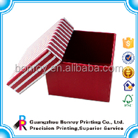 Printed Chinese New Year Red New Gift Box in Cardboard
