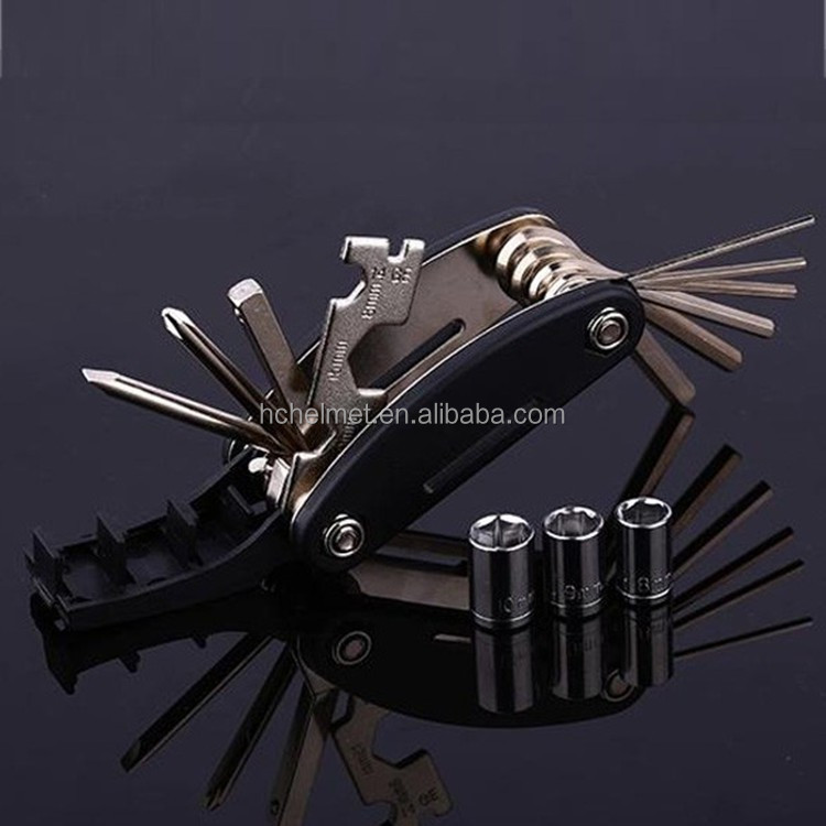 15 in 1 Multifunction bicycle repair tool kit bike repair tool kit for bicycle hot sale