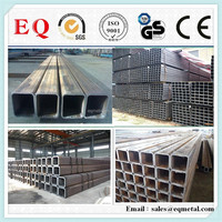 China High Quality Q235 Steel Tube Corners Square SS400 Q345