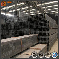 Q345 rectangular hollow section steel pipe, weld steel square tube material specifications