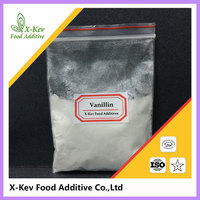 food grade flavour and fragrance white powder Vanillin