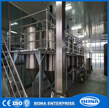 First grade edible soybean oil refining plant