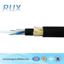 Telecommunication Use Adss 24 Cores Single Mode Fiber Optic Cable