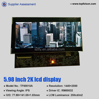 6 inch 1440P TFT screen with hdmi to mipi board for VR diy Topfoison