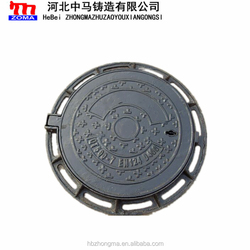 Hot sale ductile iron sand casting manhole covers&ductile iron casting well cover