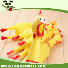 Funny Squeaky Chicken Pet Toys Chew Dog Toy