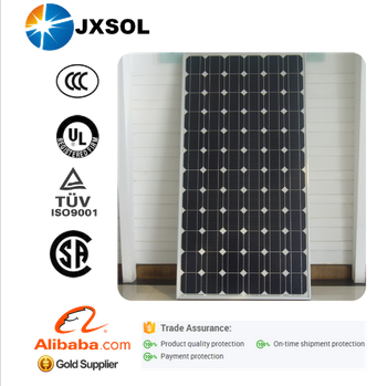 high efficiency high quality competitive price per watt mono 330w solar panel