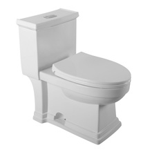 New design fashional style china sanitary ware one piece wc toilet bowl - MUCCI