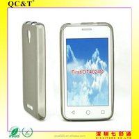 cell phone case without texture for Alcatel First OT4024D