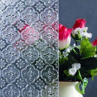 clear mistlite nashiji karatachi flora chinchilla decorative patterned glass