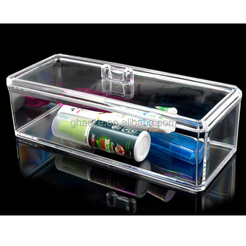 Display Racks Clear Acrylic Makeup Storage Box Factory