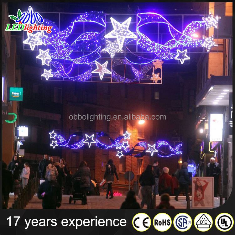 Christmas led meteor falling tube light Outdoor led street decoration lighting