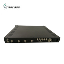 tv broadcasting system 1PPS/10Mhz/DPD RF/ASI ISDB-TB/ISDB-T Modulator with wireless uhf digital tv transmitter 300w/500w/1kw