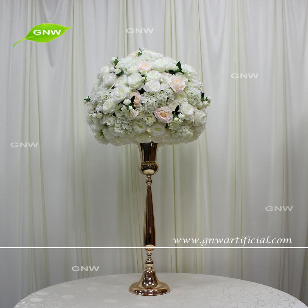 Gnw Flwa1707019 002 Off White Flower Ball With Blush Pink Tall Decor