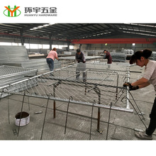 temporary chain link fence panels/portable chain link fence panel from Chinese manufacturer