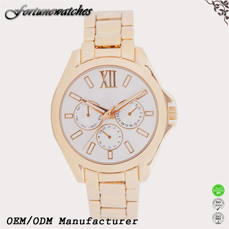 Newest 2016 watch omax mens quartz watch genuine leather de longe quartz watch