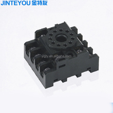 round pin electrical overload relay socket with high quality