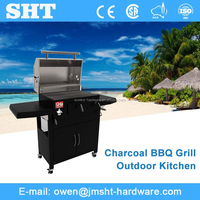Professional Manufacturer Commercial Stainless Steel Charcoal Bbq Plant