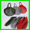 new arrival high quality grocery Reusable Small Cotton Mesh drawstring net bag