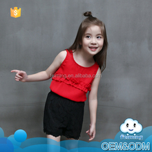 Baby clothes summer clothing 2016 no brand names clothes suit wholesale girls wear