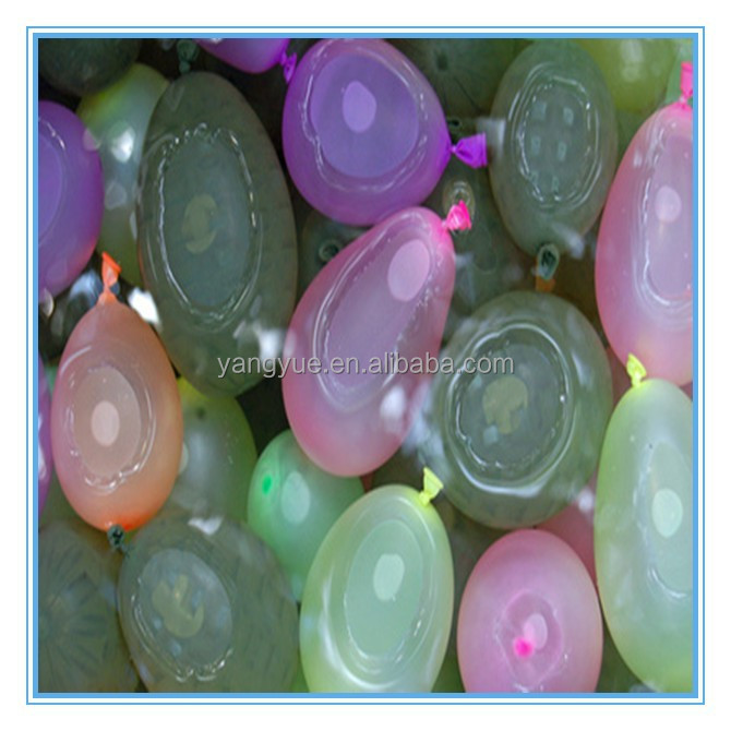 3 inch Magic toy balloons Fill 100 water bunch o balloons bomb in one minute with bunch rubber ring