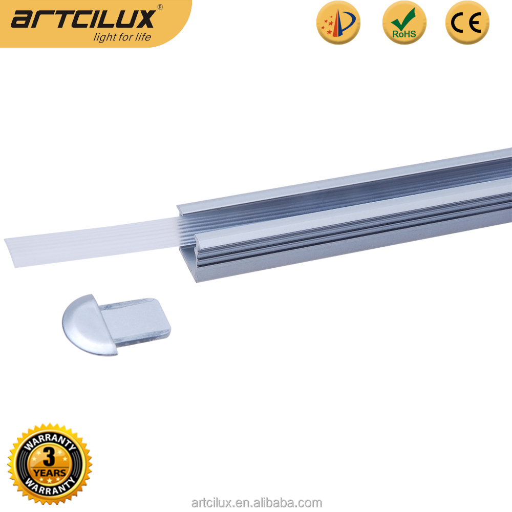 12V dimmable recessed cabinet led light bar for furniture