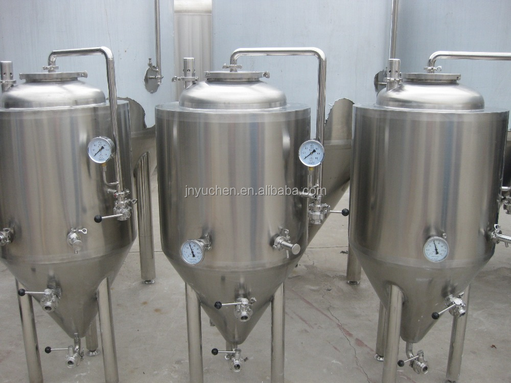 1000L-8000L conical beer fermenter
