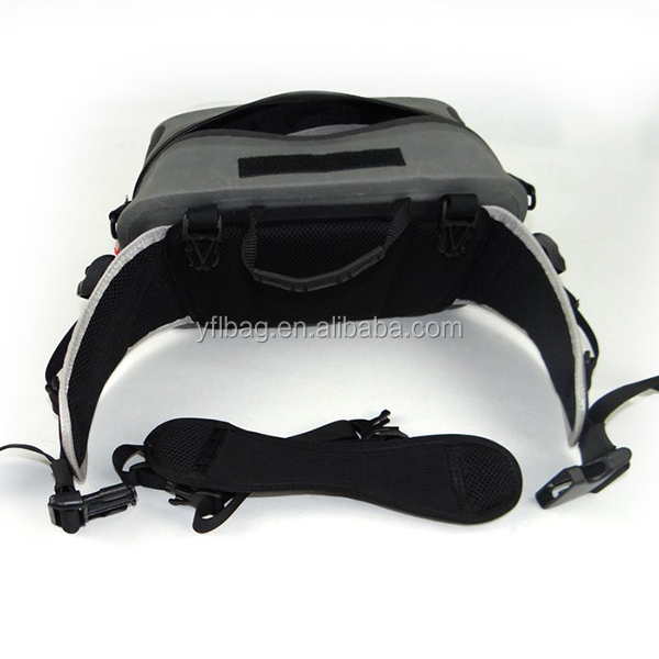 New design polyester sport waterproof waist pack pouch