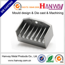 Aluminum alloy mould heat sink for motorcycle cover housing aluminum die casting