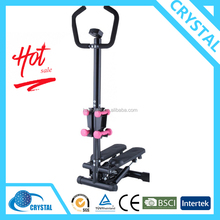 SJ-234-4 New design Multi-functional Life Fitness Equipment Body Shaping Stepper with Dumbbells