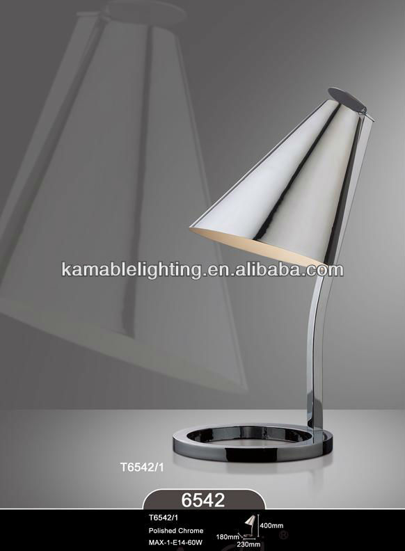 Modern High Quality Polished Chrome Working Table Lamps