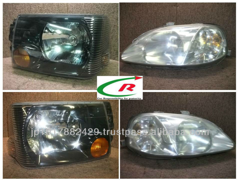 High quality used auto parts ( used / secondhand headlight for toyota prado )