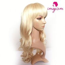 2016 new style fashion human hair wig for cancer patient medical wig silicon base