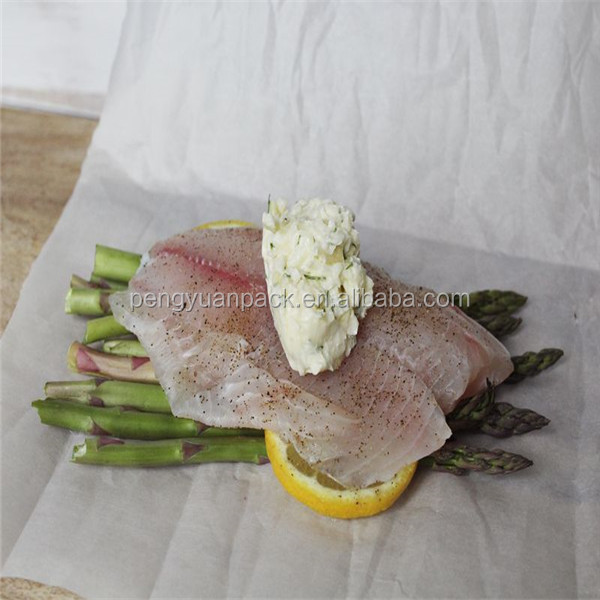 silicone coated or uncoated vegetable parchment paper roll and sheet