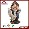 Resin Craft Garden Gnome With Led