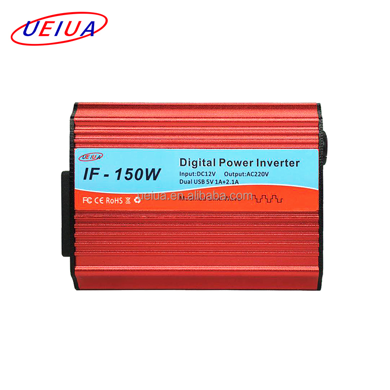 150W Car Power Inverter DC 12V to AC 110V with 12V Cigarette Lighter Adapter 3.1A USB DC 12v Vehicle Power Converter