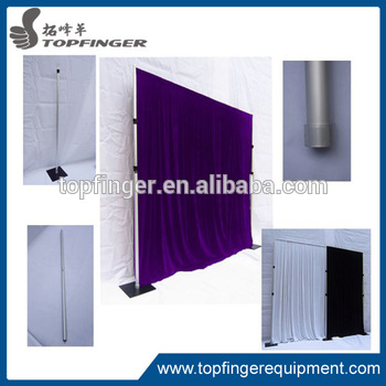 factory cheap Flexible hot selling innovative systems High quality wedding pipe and drape for sale