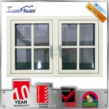 Fashion design Australian standard double glass high quality aluminum window