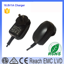 ac to dc 18650 wall charger 4 cells 16.8V 1000mA li-ion Battery charger