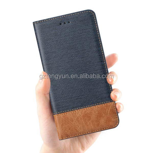 Genuine Leather Wallet Case for iPhone 5/5s, for iphone 5 Pouch Card phone case
