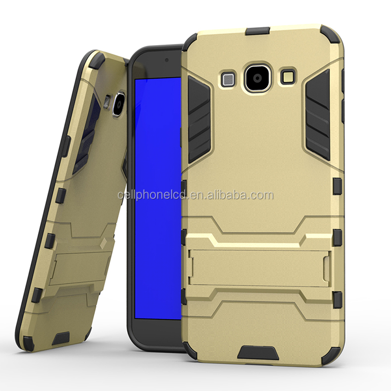 Mobile Phone Case for Samsung Galaxy A8 TPU & PC Kickstand Case