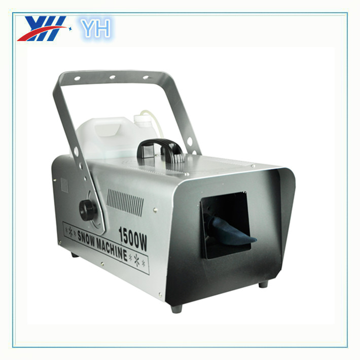 High Quality 1500W Snow Machine For Disco Showing